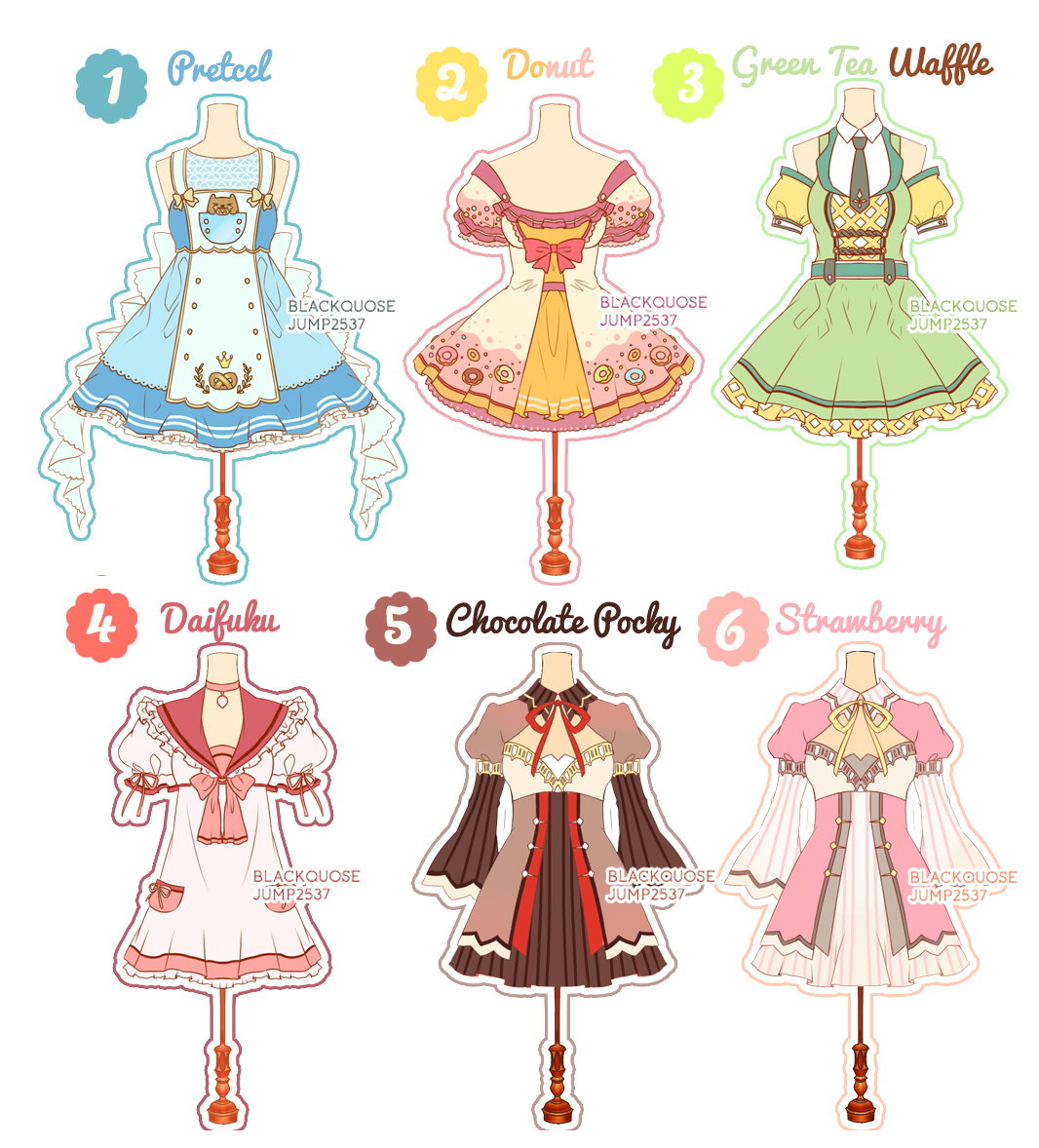 Open dessert theme adoptable. Showering clipart outfit