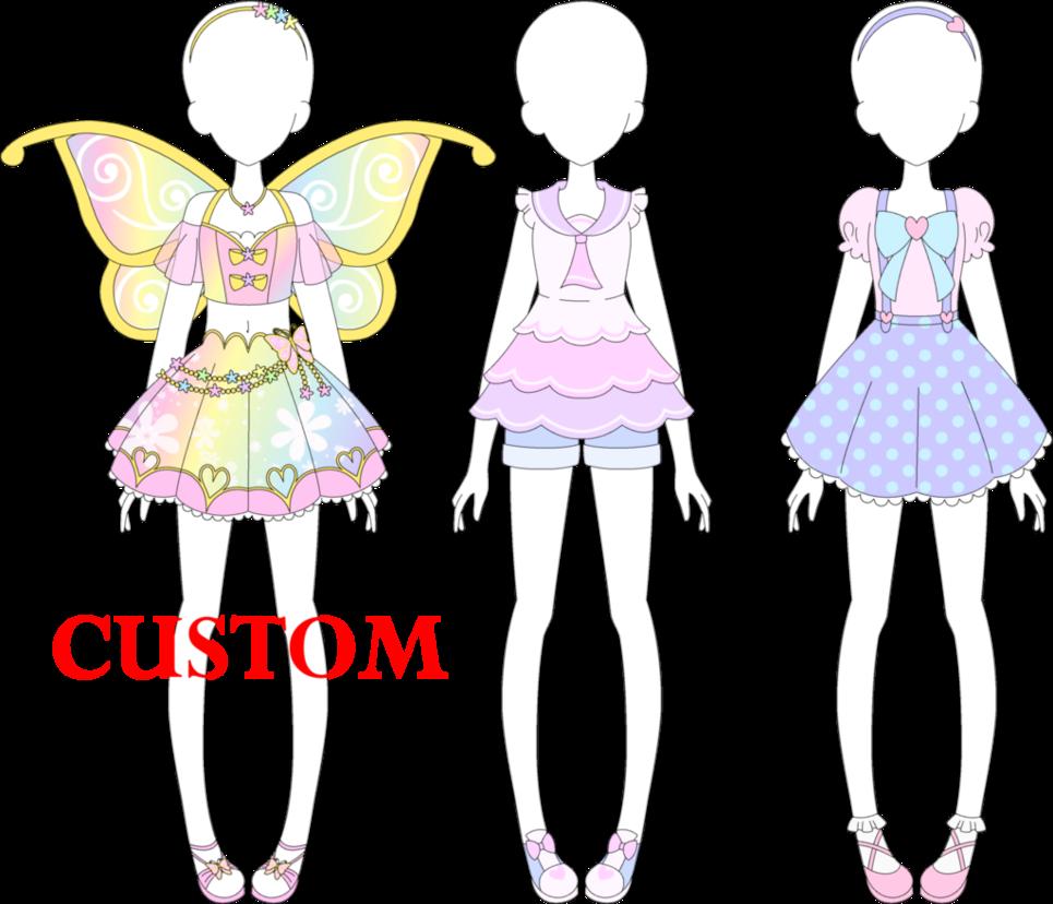 Fairy kei january by. Closet clipart casual attire