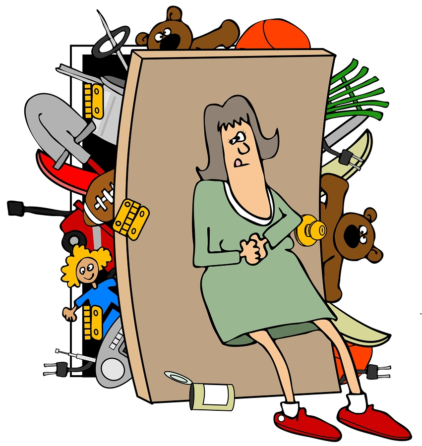Spruce up your space. Closet clipart clean closet