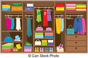 Collection of free clothing. Closet clipart clothes market
