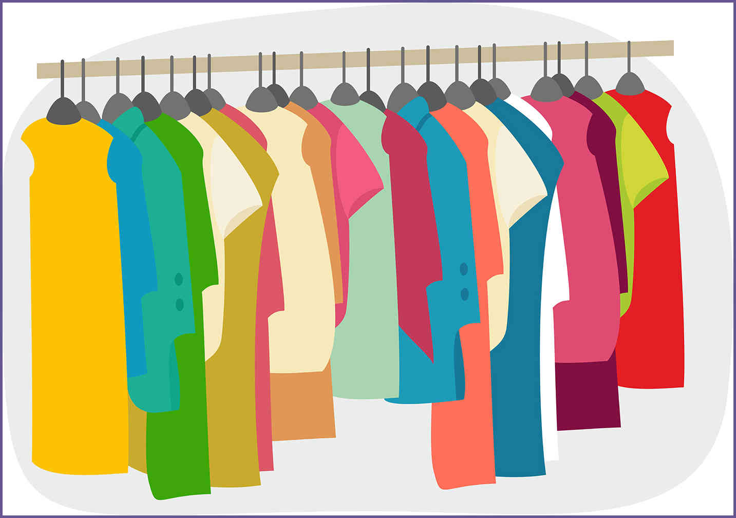 Clothing clipart closet full clothes. Free cliparts download clip