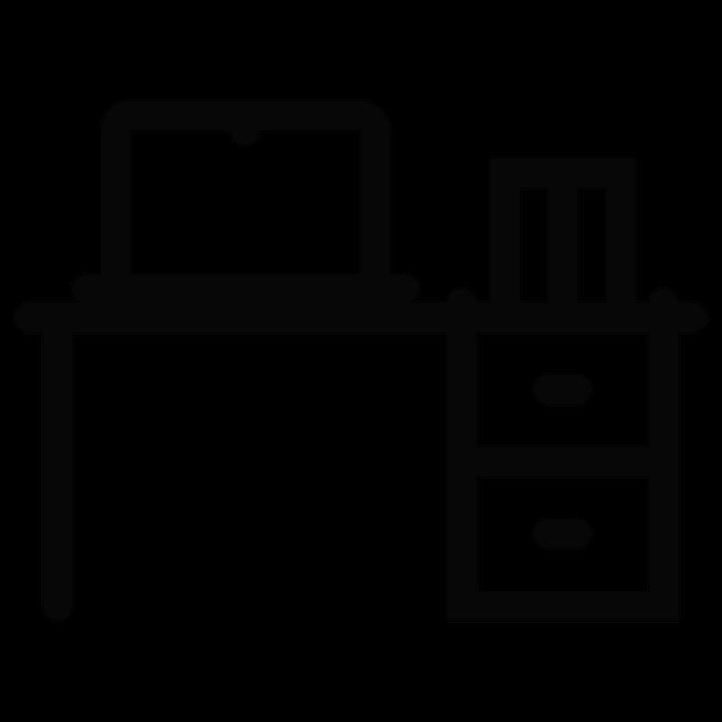 Organized clipart desk organizer. Portfolio home office move