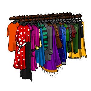 Clothing clipart clothes market. Free closet cliparts download