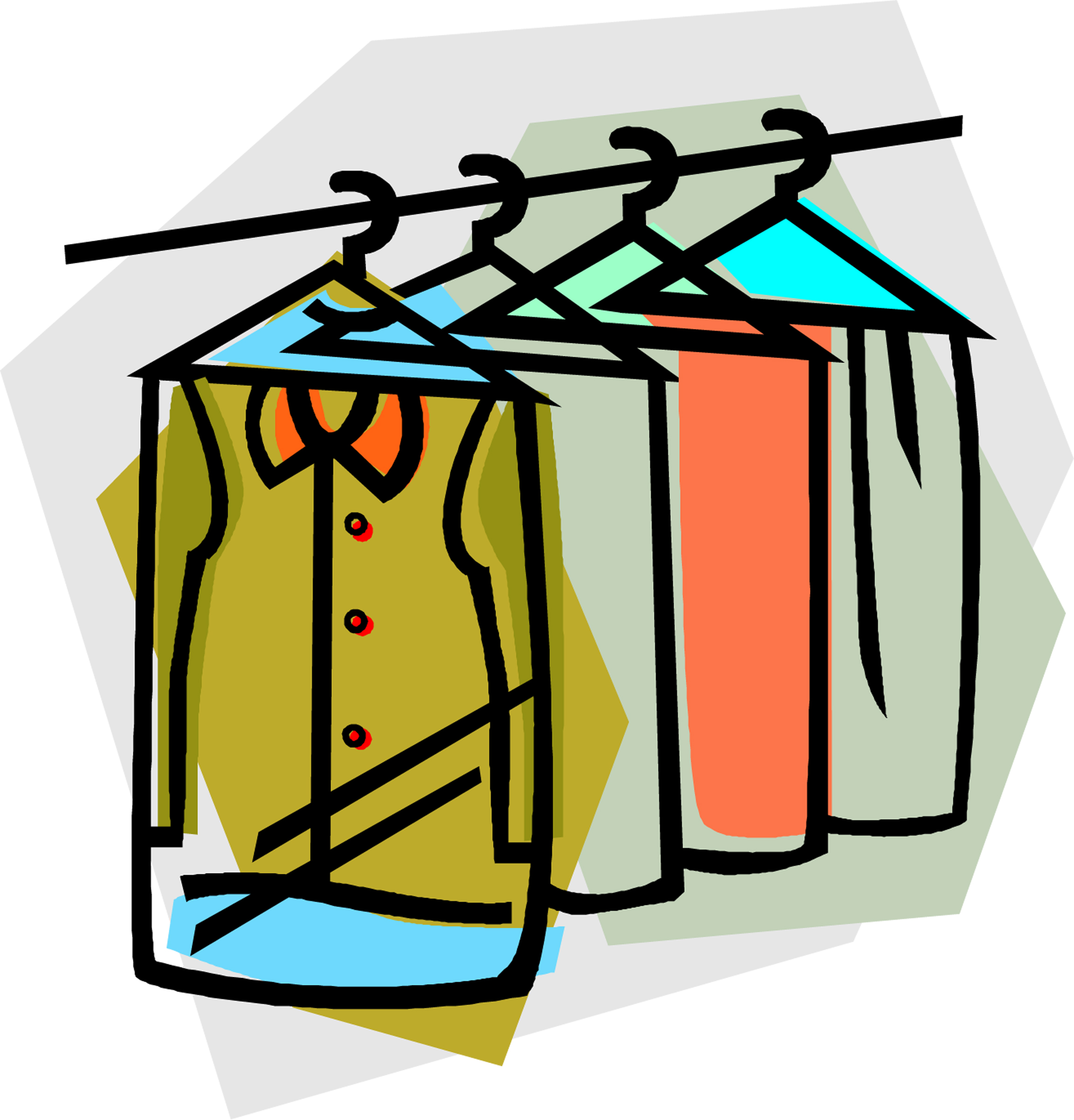 Closet clipart professional clothes. Free download best