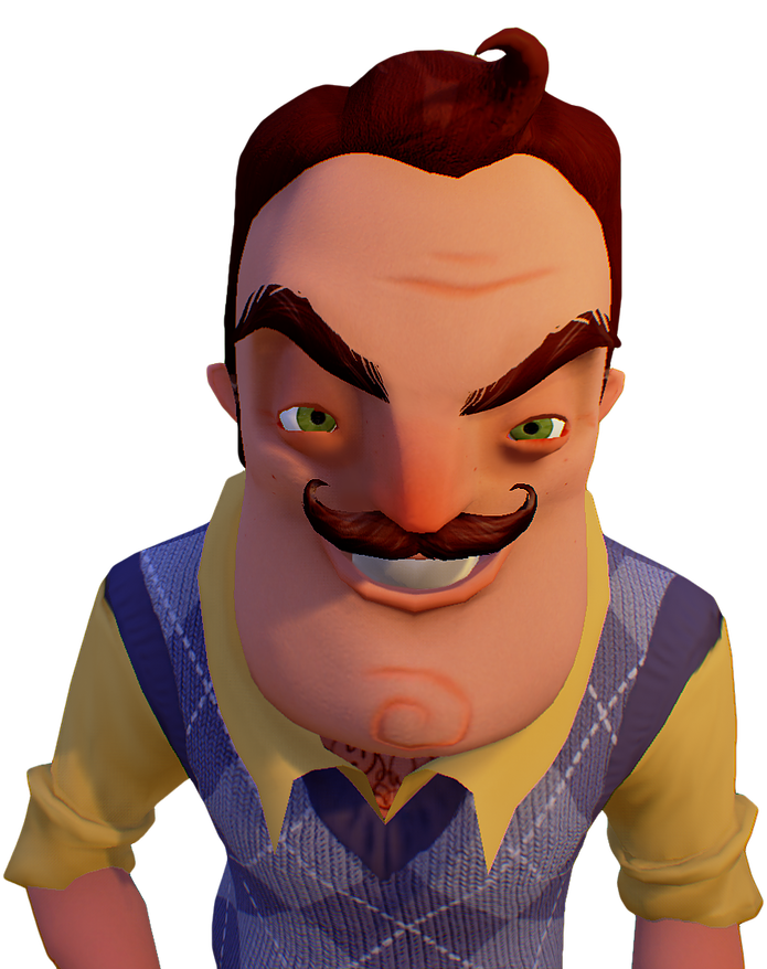 Hello neighbor is a. Psychology clipart puzzle face