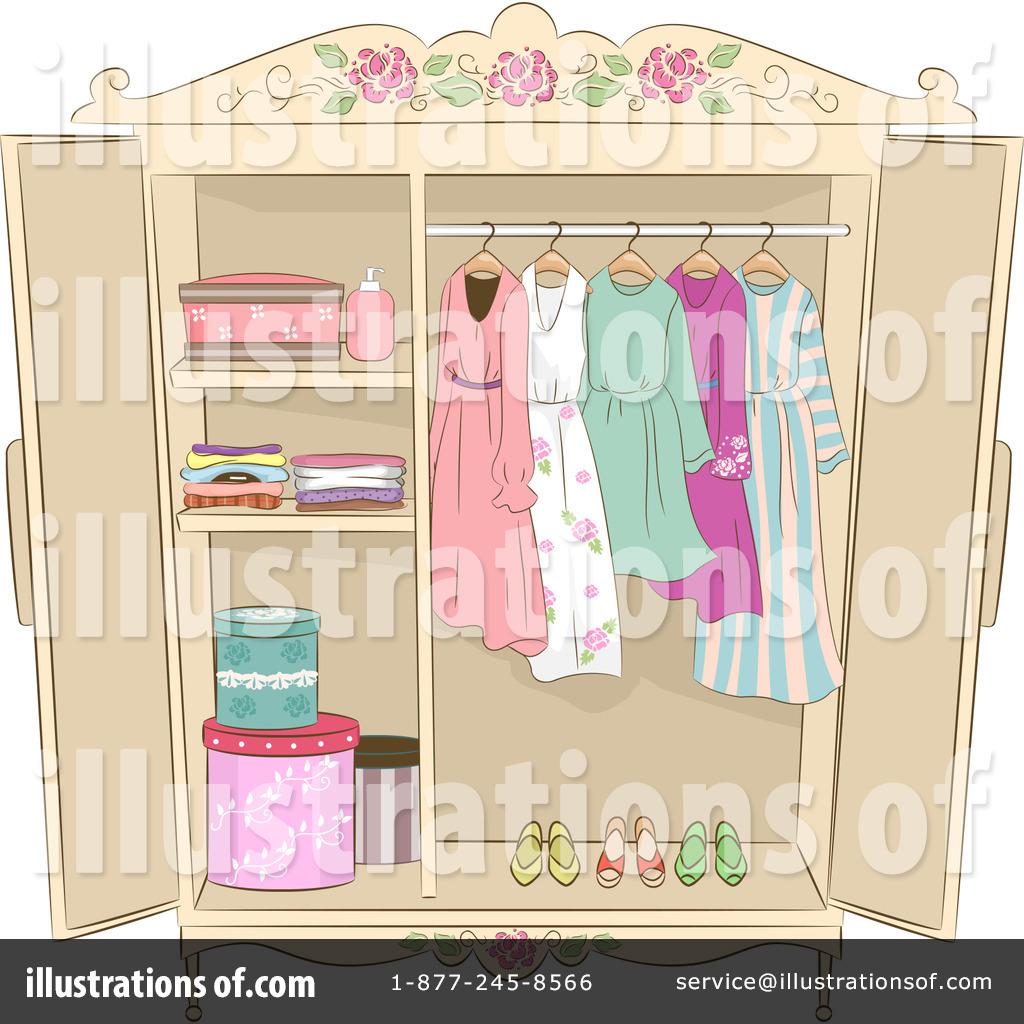 Illustration by bnp design. Closet clipart stock photo