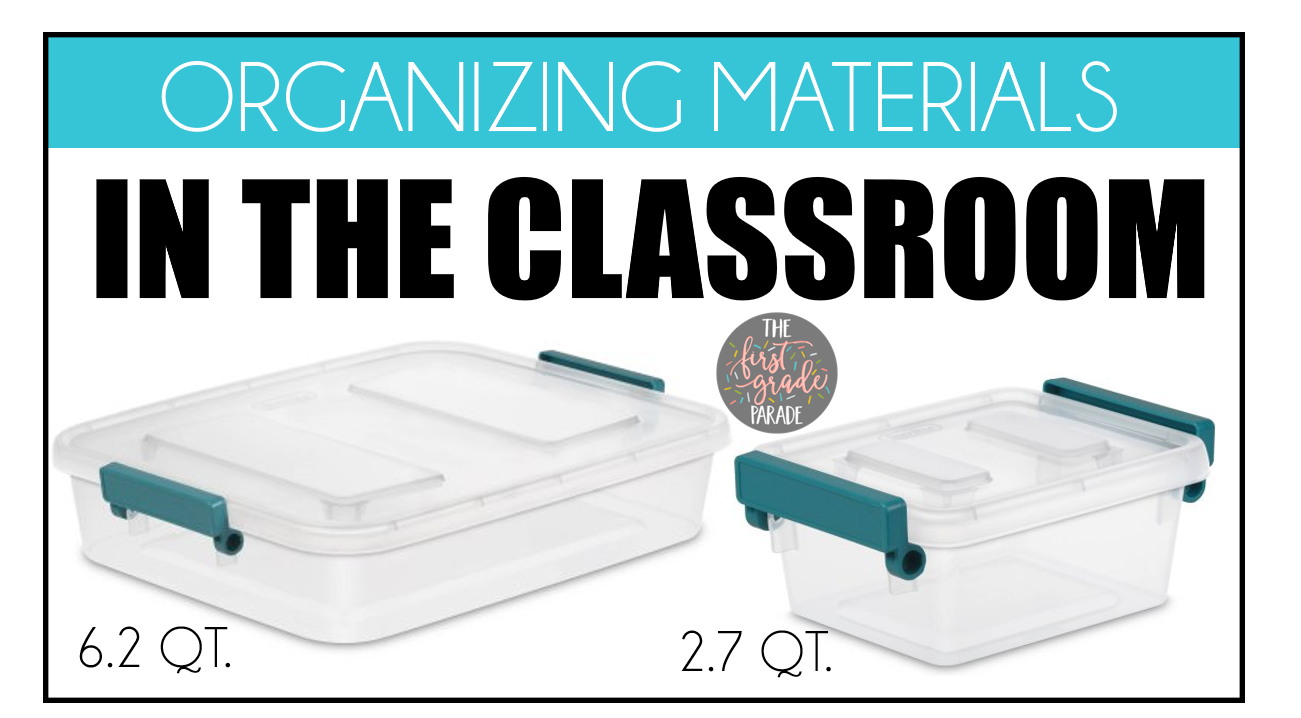 Solutions for the classroom. Closet clipart storage box