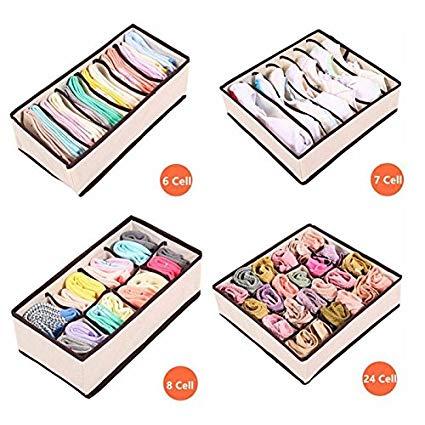 Amazon com pcs underwear. Closet clipart storage box