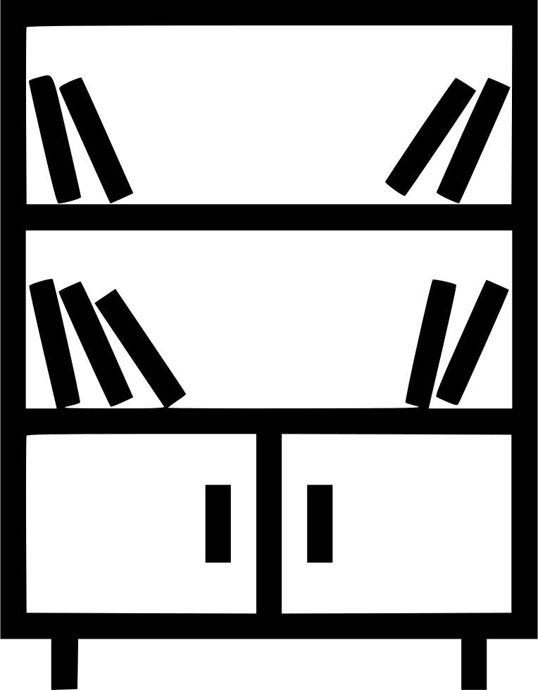 Closet clipart svg. Bookshelf shelf cupboard cabibet