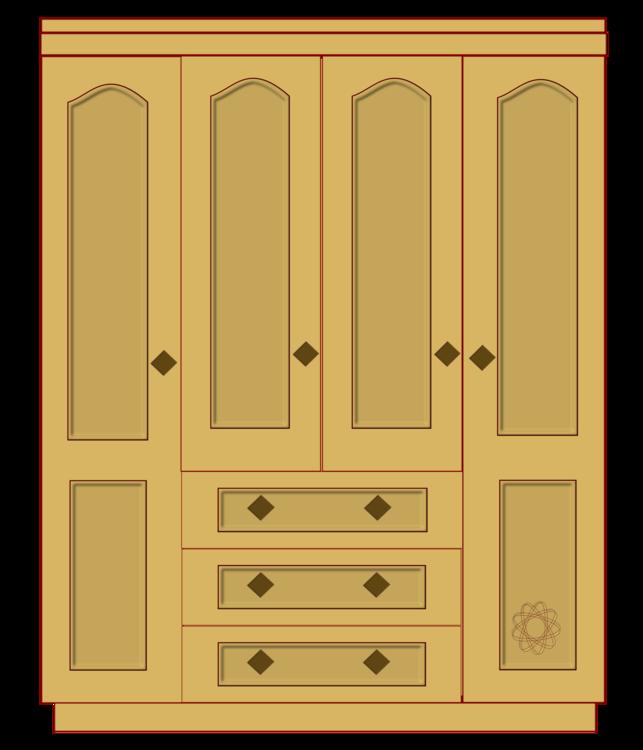 Cupboard drawer wardrobe png. Closet clipart svg