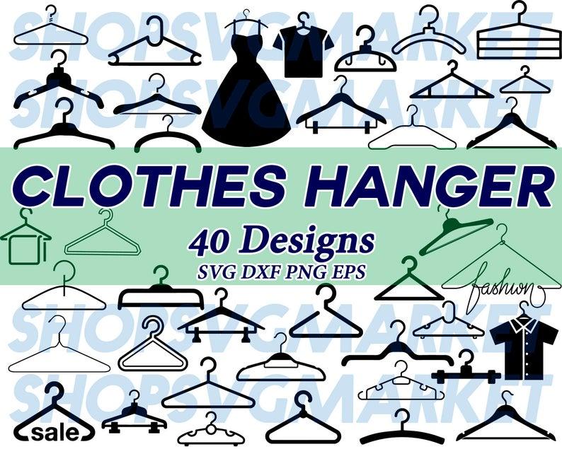 Closet clipart svg. Clothes hanger fashion wardrobe