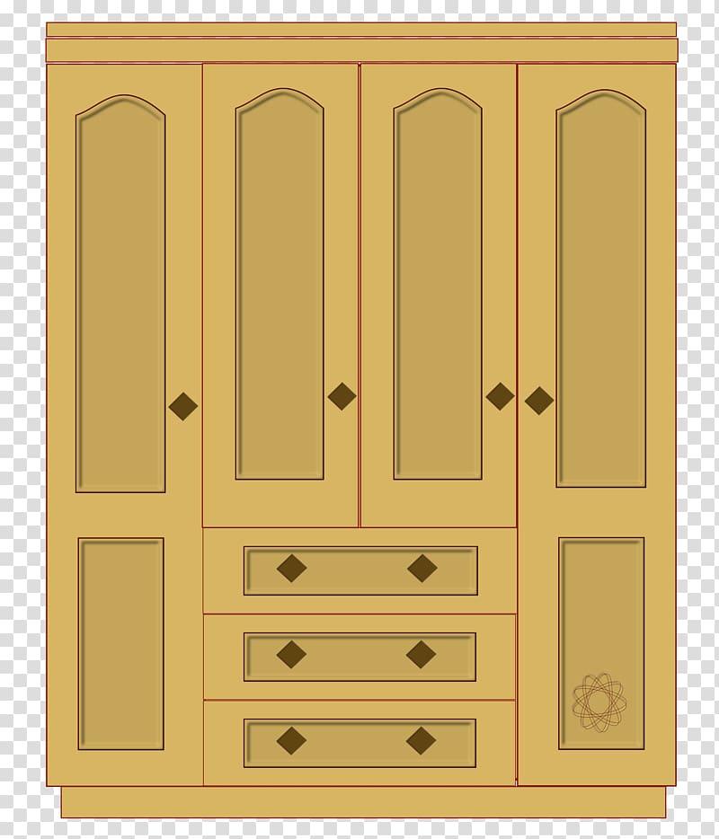 Dresser clipart bedroom cabinet. Wardrobe closet wood transparent