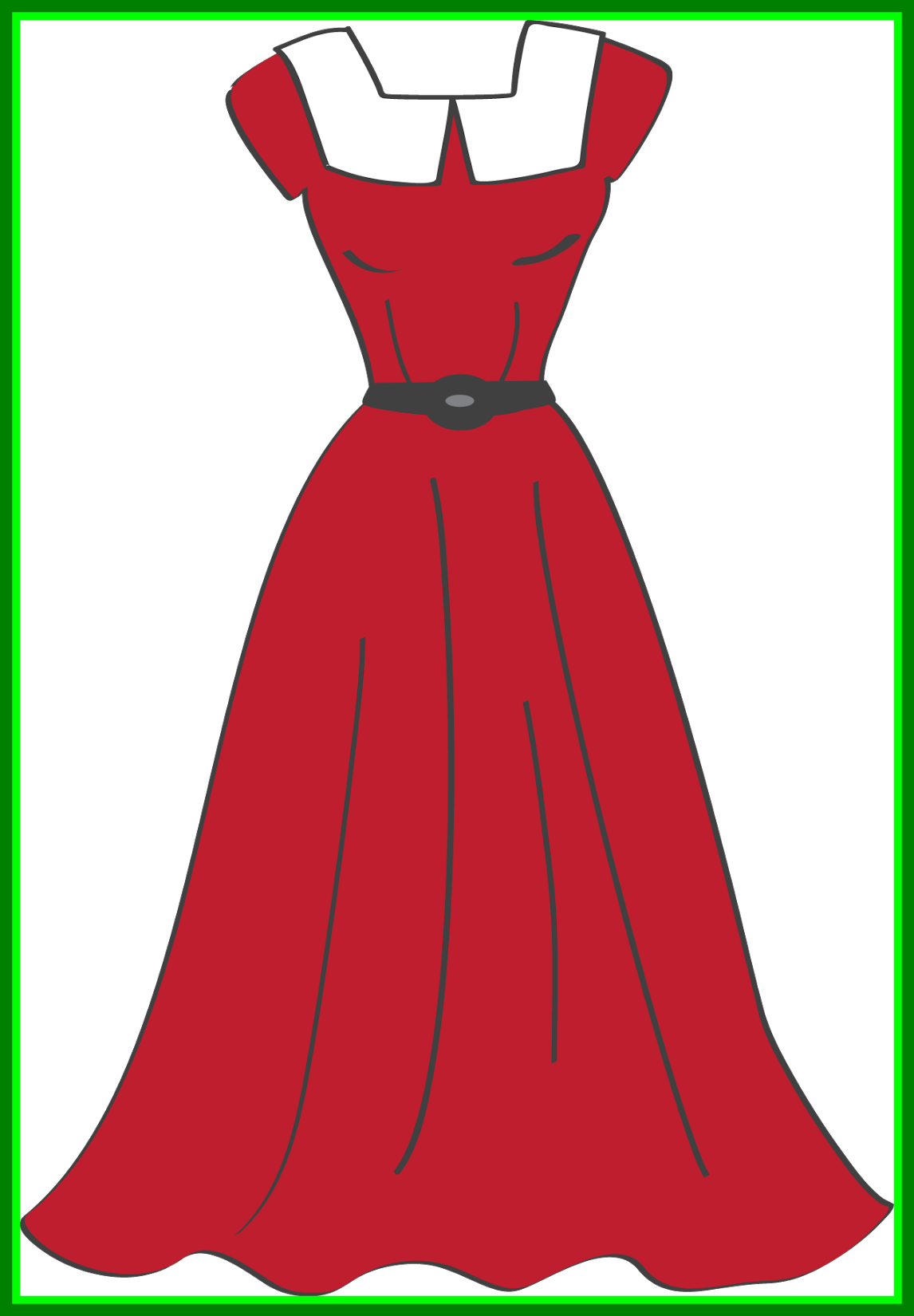 ideas of fall. Dress clipart colored