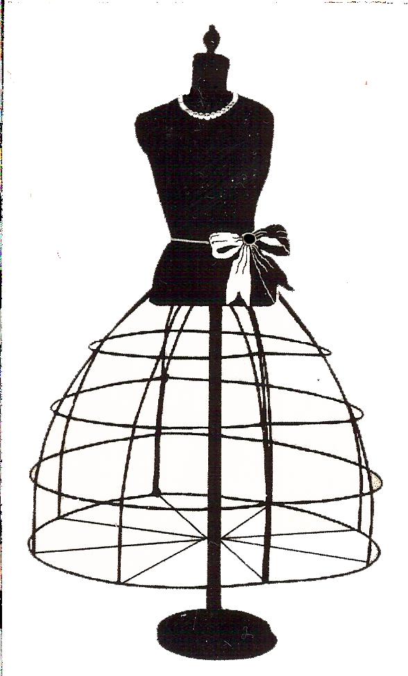 Clothing clipart mannequin. Free vintage digital stamps