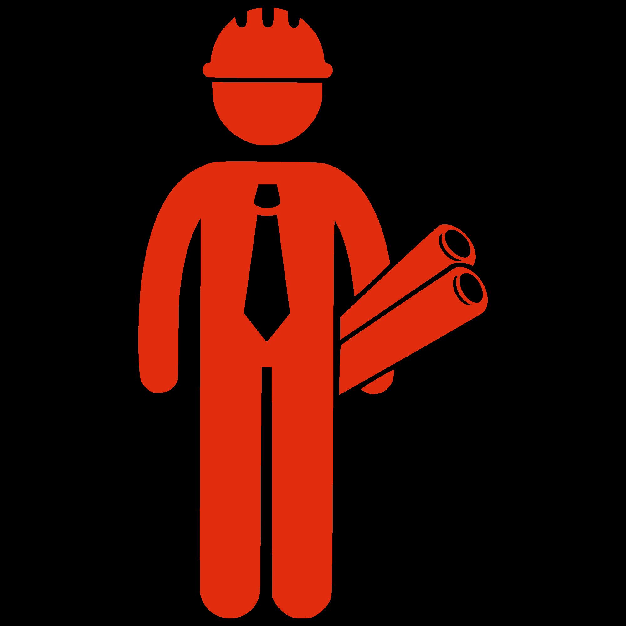 Contractor silhouette