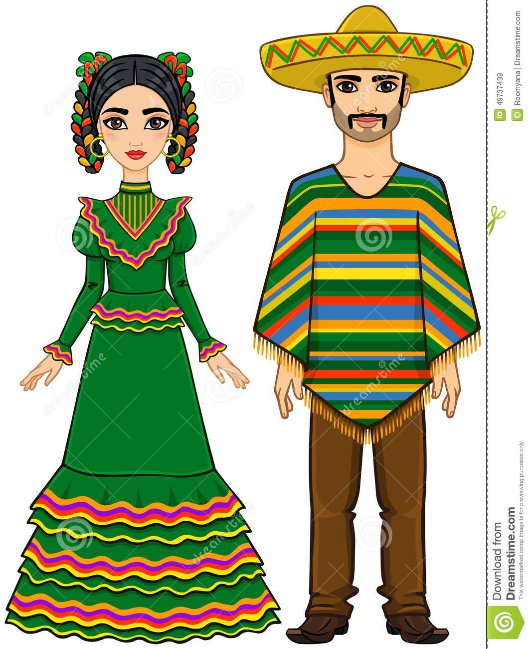 Mexico clipart clothing mexican. Culture free download best