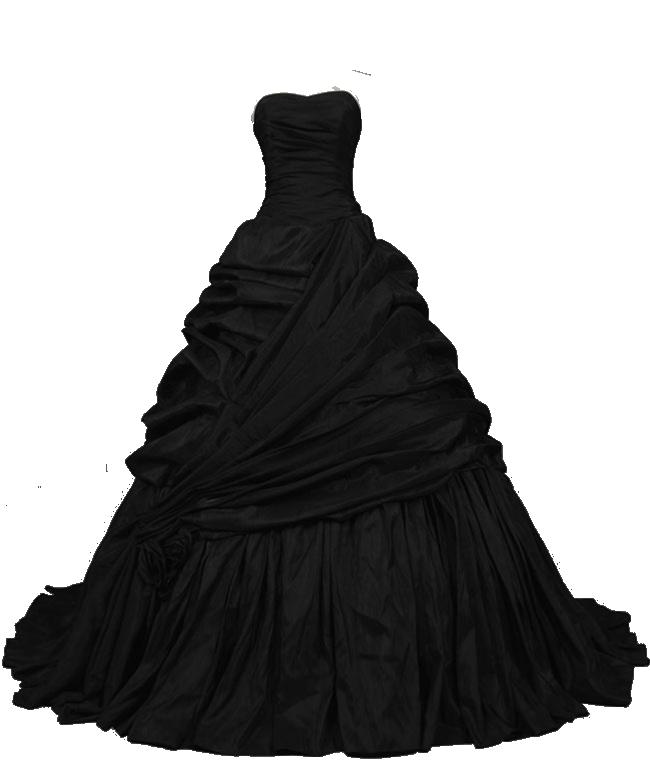 Black dress pretty png. Fashion clipart drees