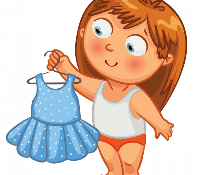 Get dressed simple is. Dress clipart clip art