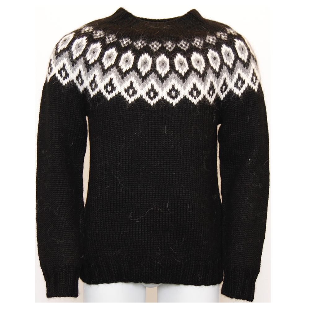 Jersey wool sweater
