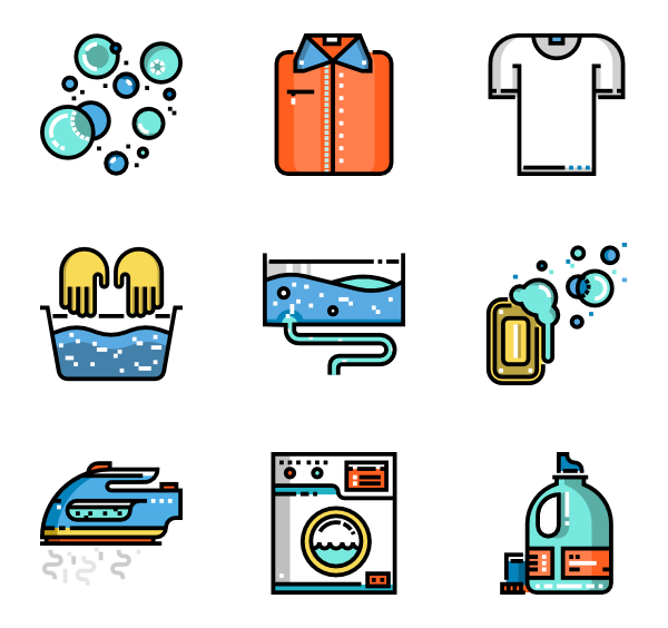 Sorting laundry cliparts free. Clothes clipart line