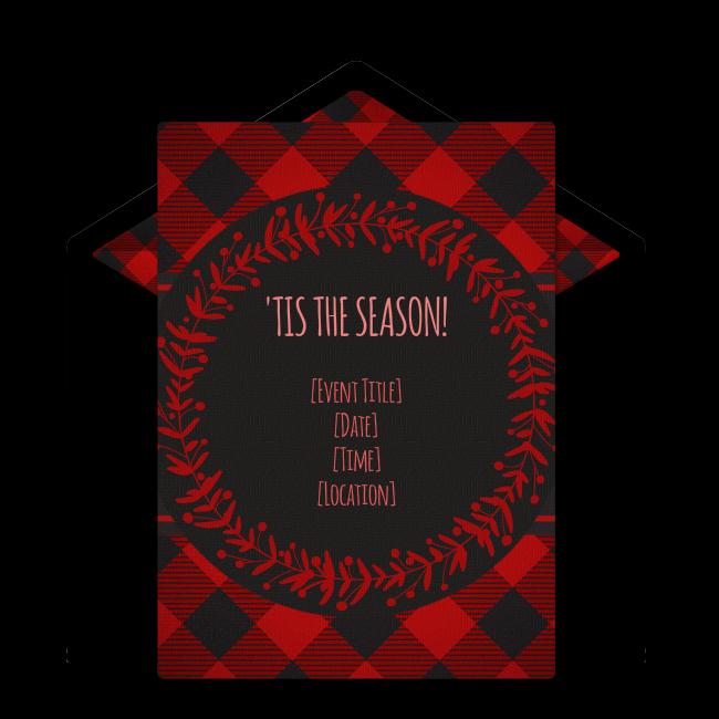 Mustache clipart mooch. Free christmas flannel invitations