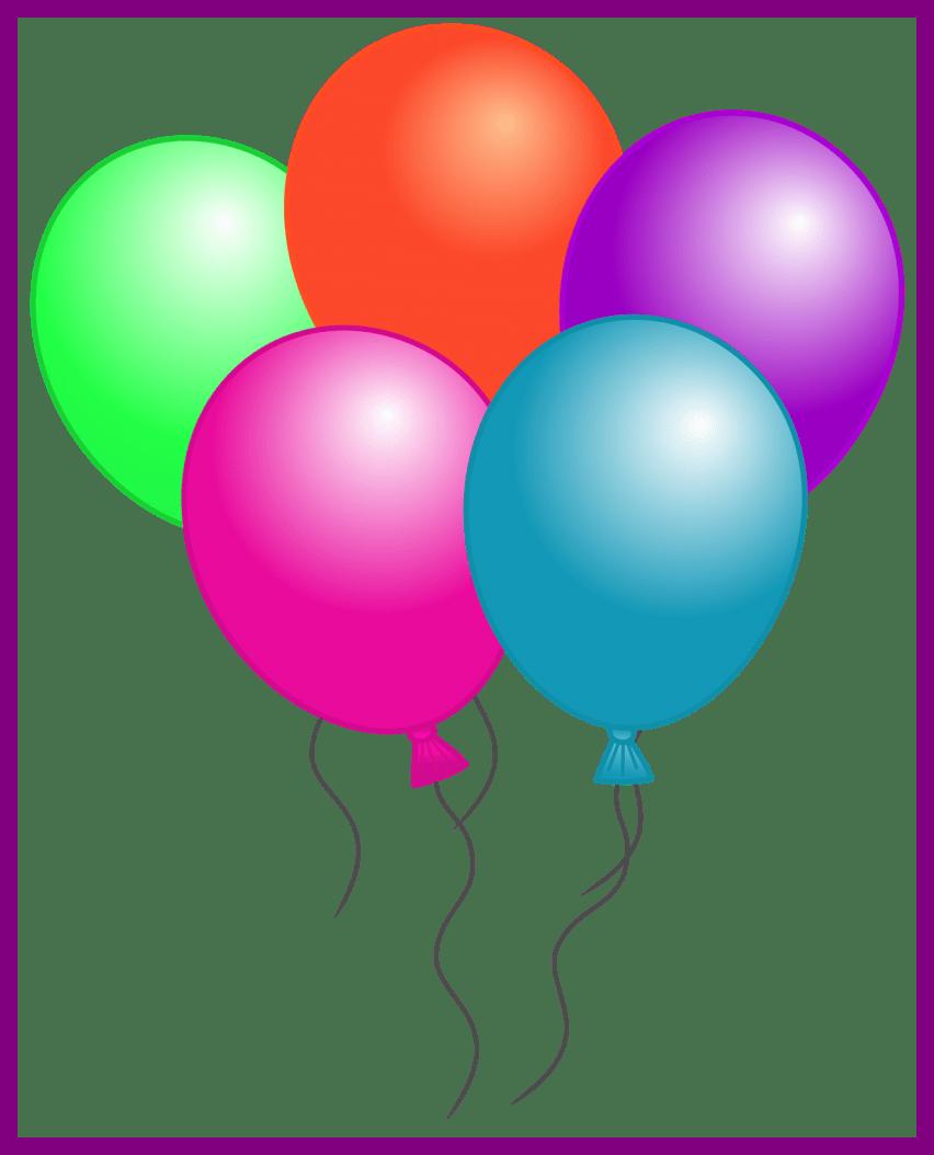 Clothing clipart summer season. Amazing birthday balloon clip