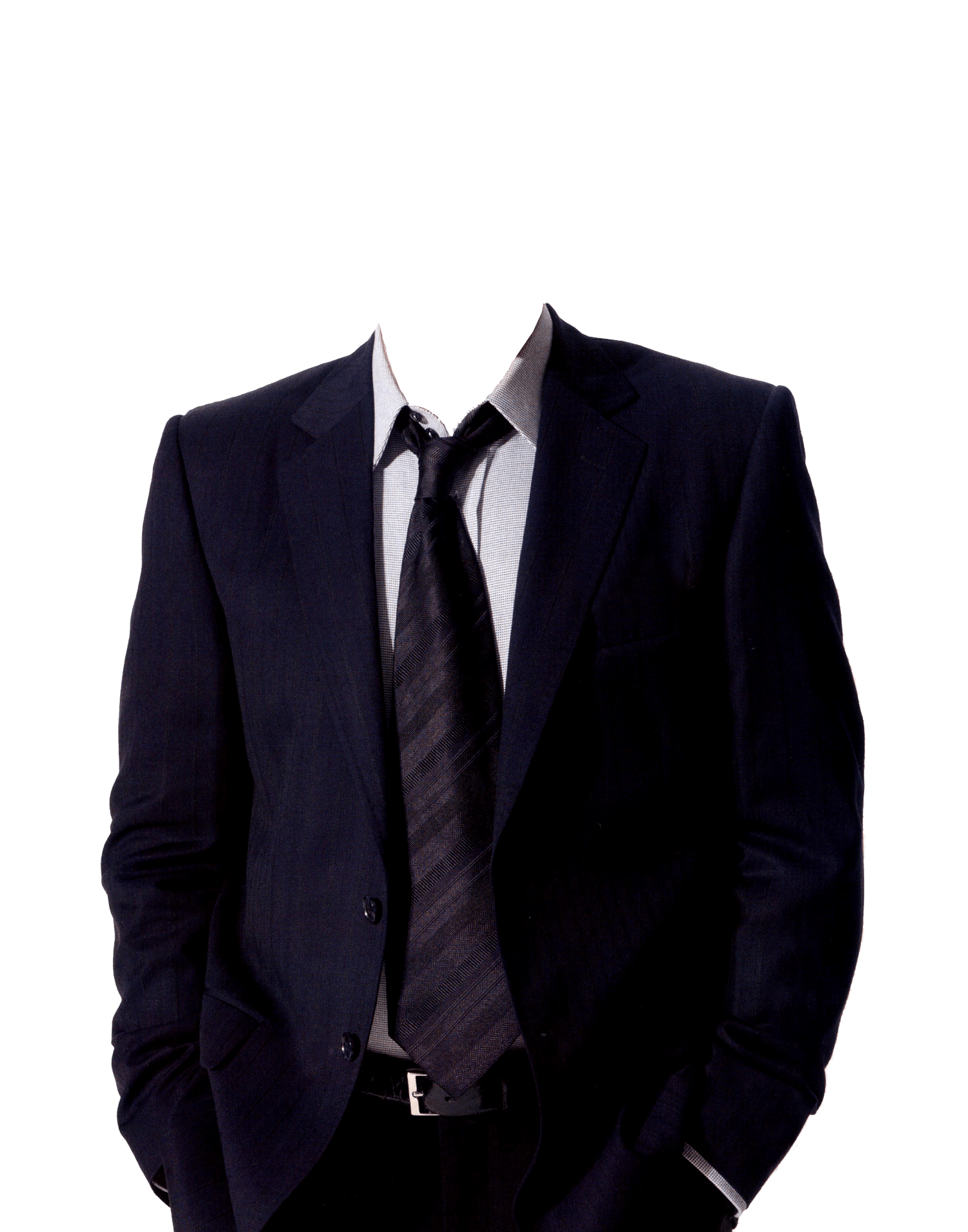 Suit and no head. Clothes clipart tie