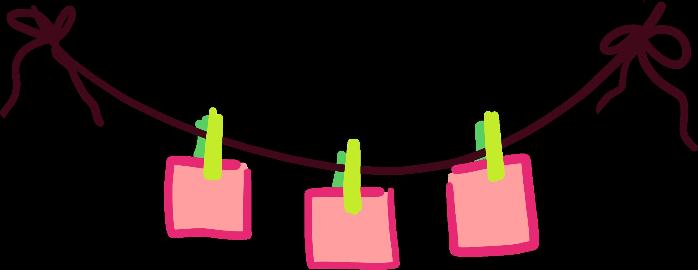 Paper clip art png. Clothespin clipart clothesline