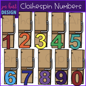 Alphabet letters and numbers. Clothespin clipart letter