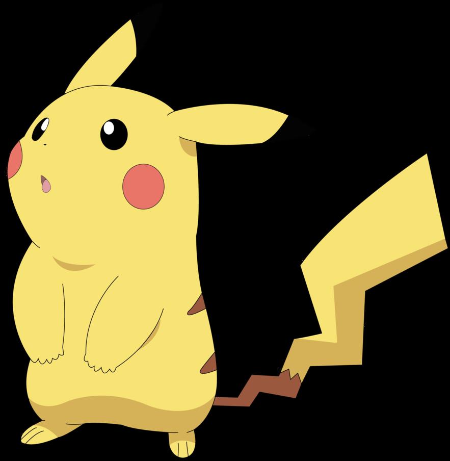 Pikachu vector by ruki. Pokemon clipart easy