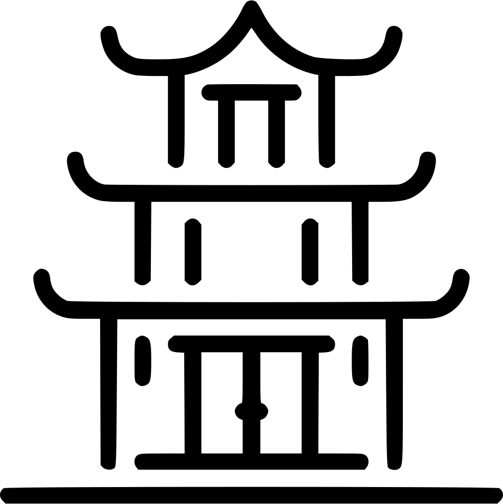 Temple svg png icon. Clothing clipart buddhist