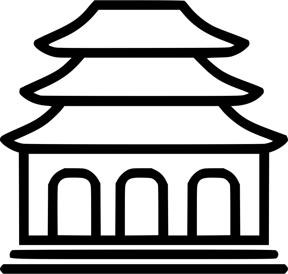 Clothing clipart buddhist. Temple svg png icon