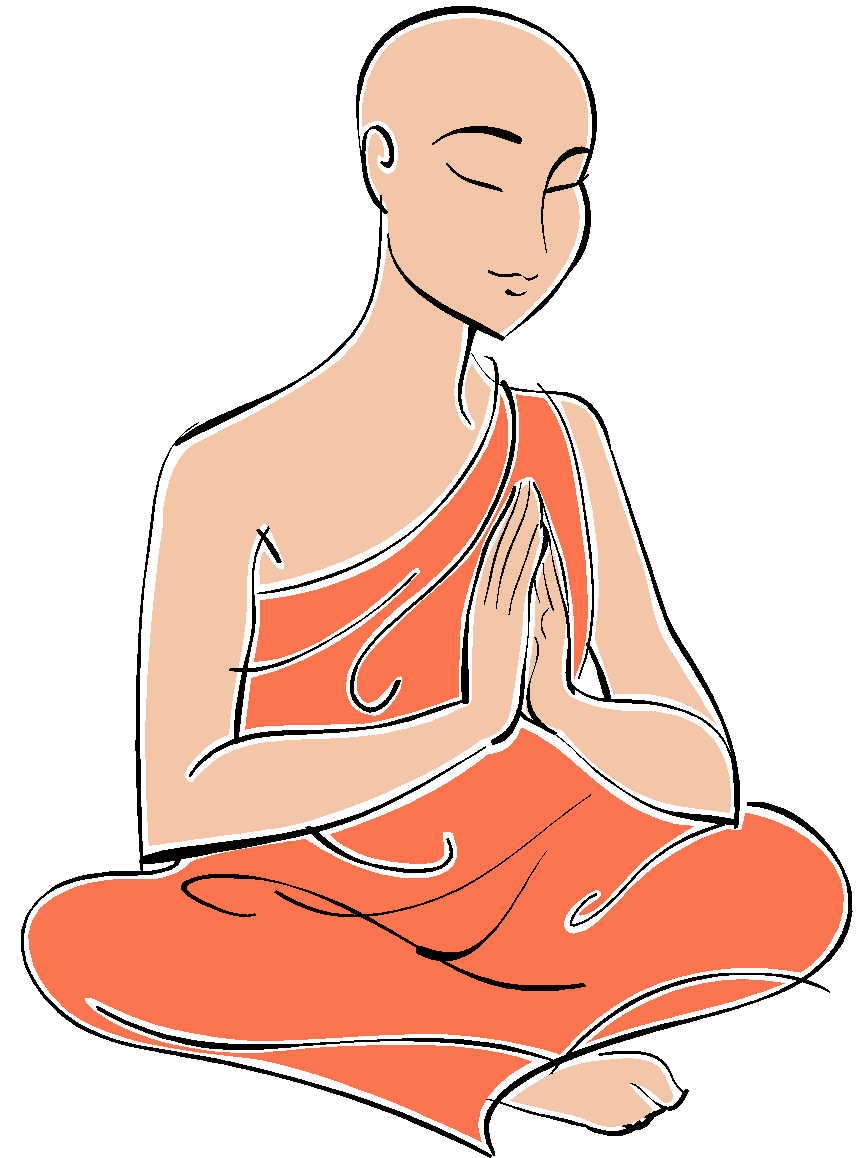 Monks and nuns gcse. Clothing clipart buddhist