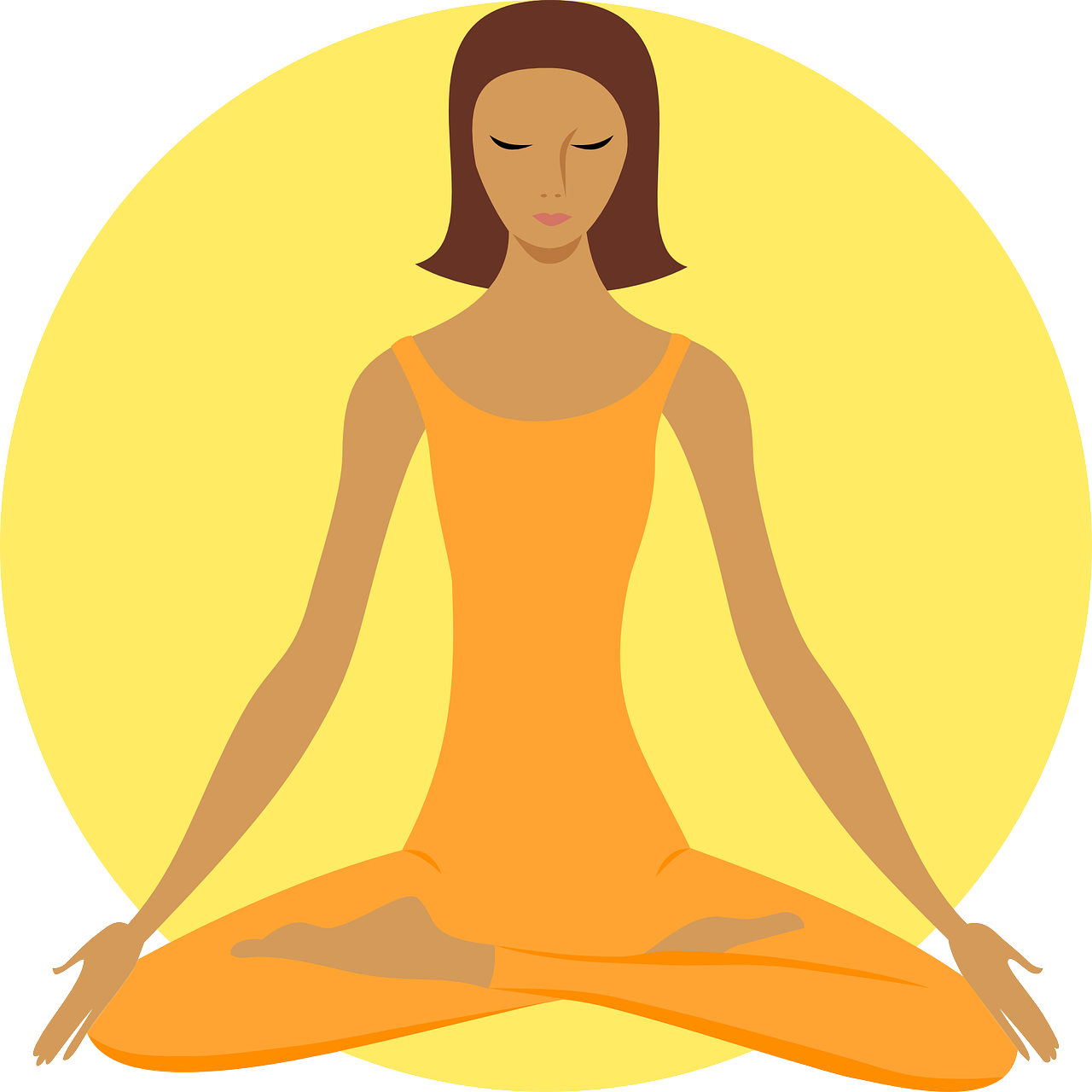 Meditation png image purepng. Clothing clipart buddhist