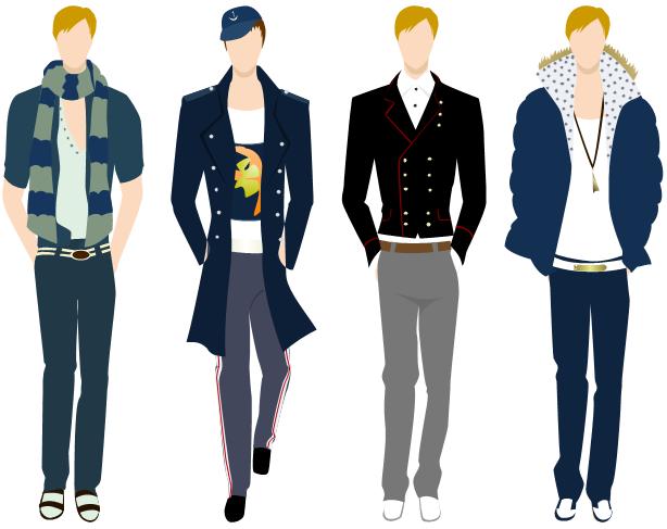 Fashion clipart gents. Men clothing design software