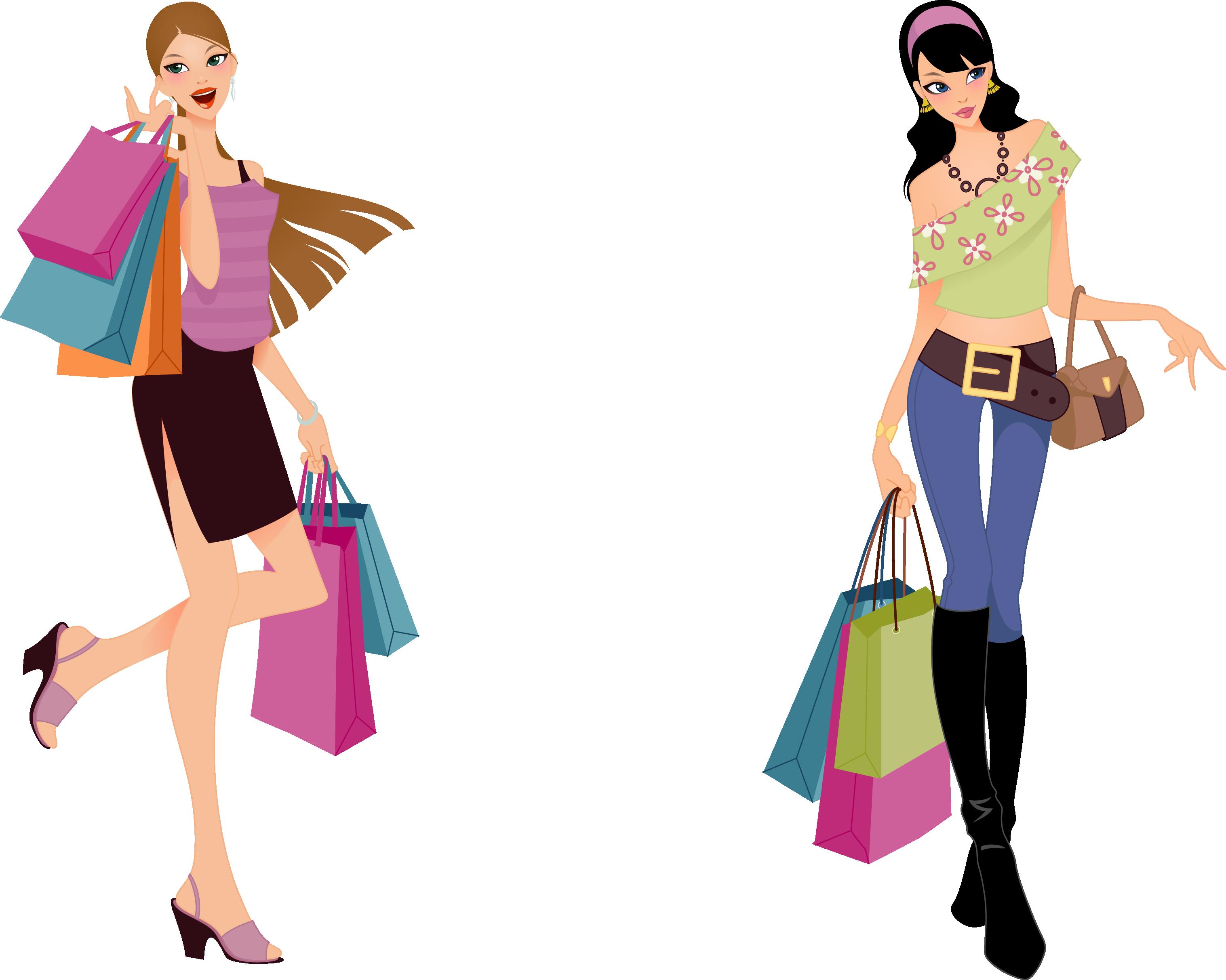 Mall clipart personal shopper. Shopping fashion clip art