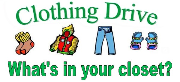 Donation clipart clothing drive. Junior league of greater