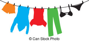 . Clothing clipart clothing line