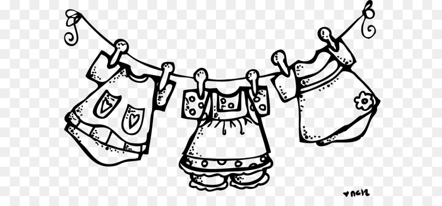 Clothing clipart clothing line.