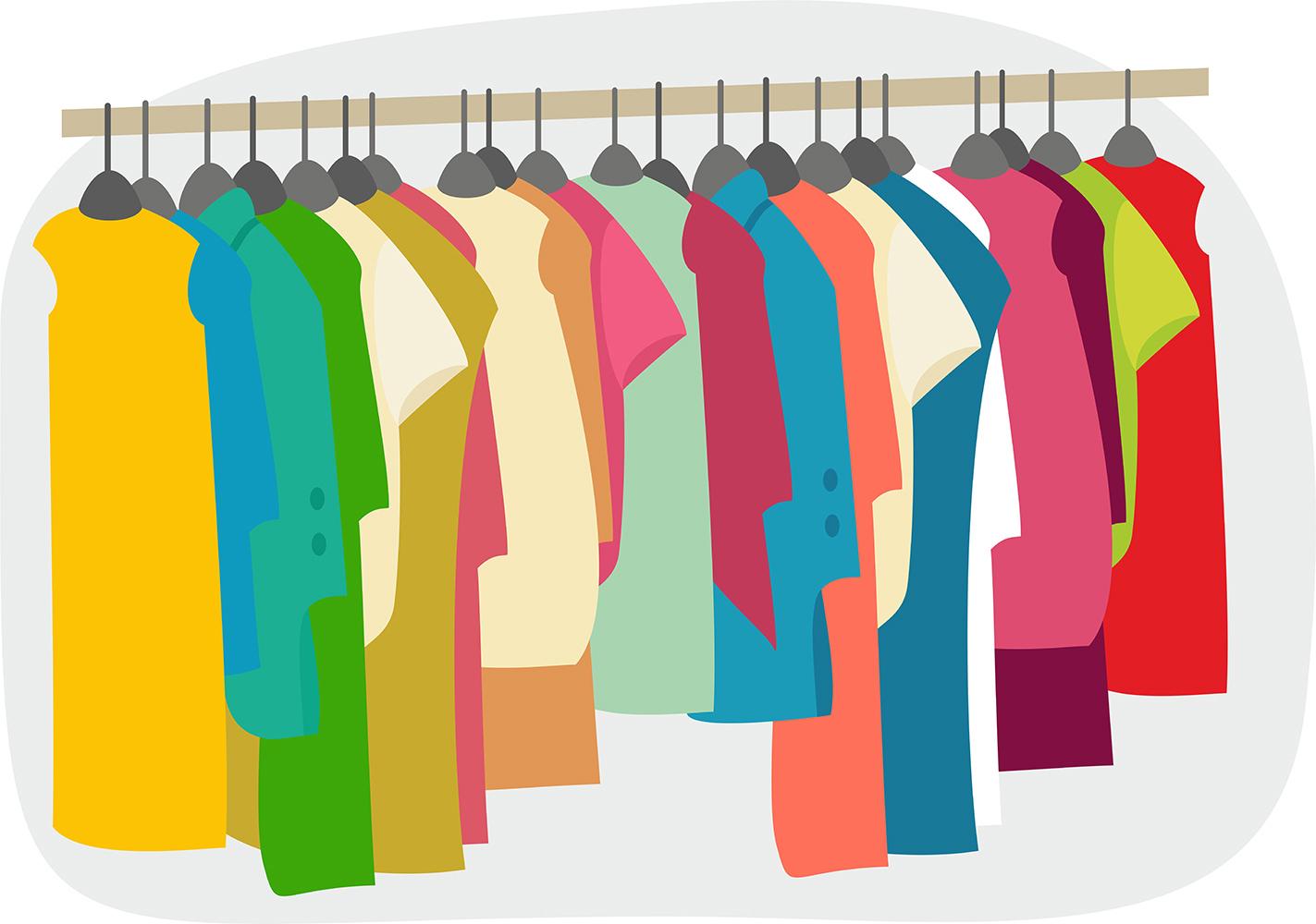 Free garage images yard. Clothing clipart clothing sale