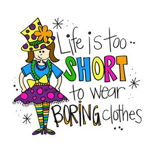 Wednesday clipart wacky outfit. Free crazy clothes download