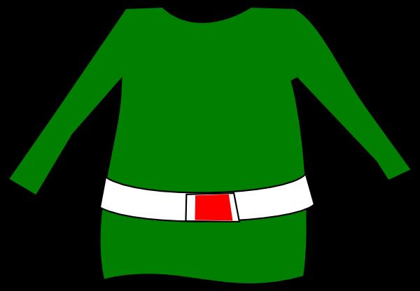 Free elf clothes cliparts. Elves clipart clothing