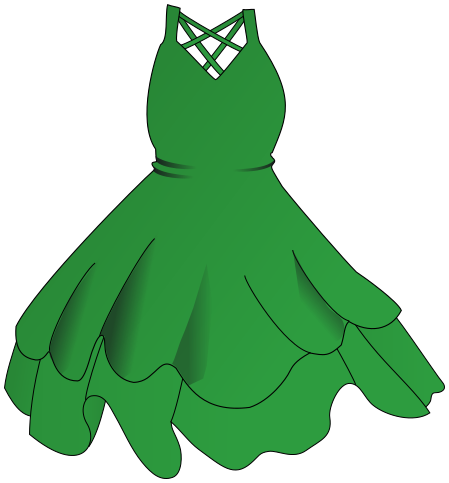 Grass background dress . Clothing clipart green clothes