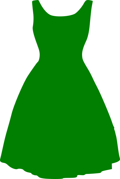 clothing clipart green clothes