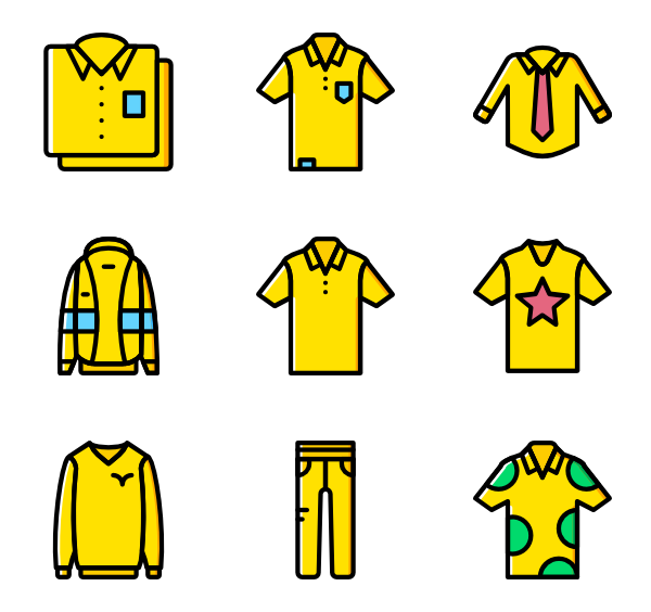 Clothing clipart man clothes.  fashion icon packs