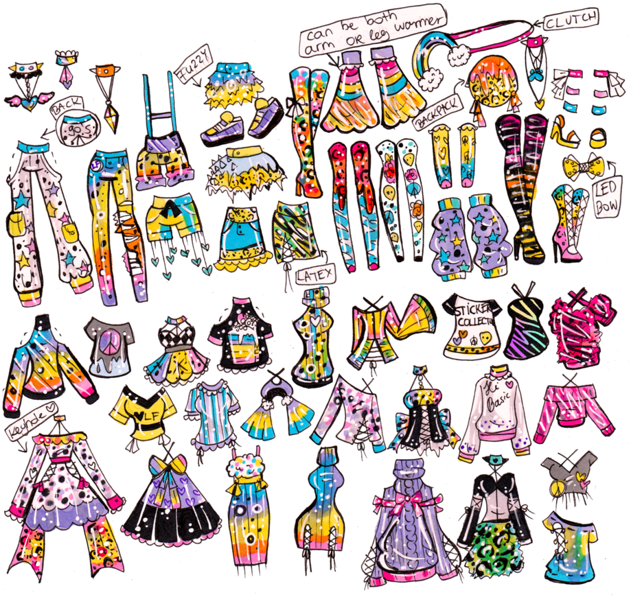 Custom and outfits by. Clothing clipart mix match clothes