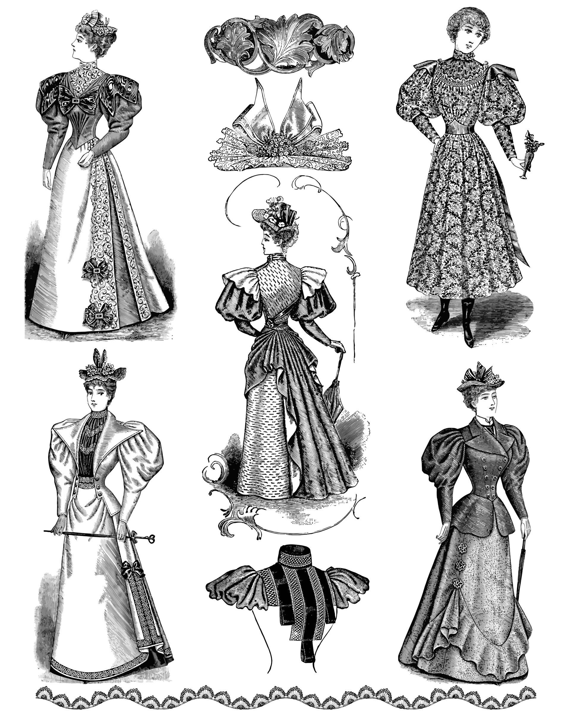 Lady clipart vintage. Female fashion icons png