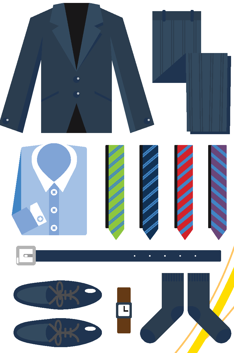 Dressing for interviews . Professional clipart professional appearance