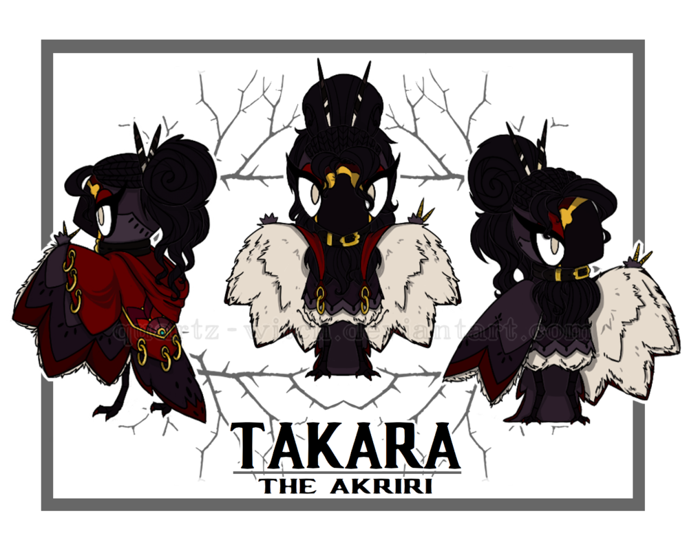 Oc birdfolk takara by. Clothing clipart salesperson