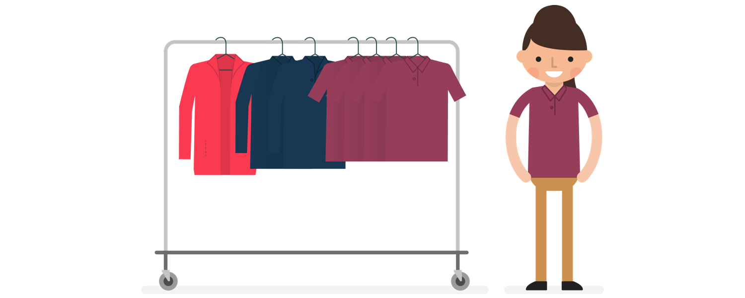 Clothing clipart spare clothes. Hakro high quality corporate